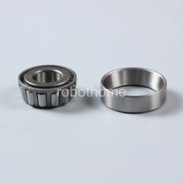 Tapered Roller Bearings 30202(7202E) Size 15 * 35 * 12 mm Conical Bearing Steel