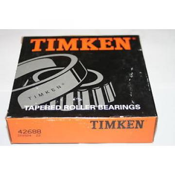 "Timken 42688 Tapered Roller Bearing Cone 3"" Bore  * NEW"