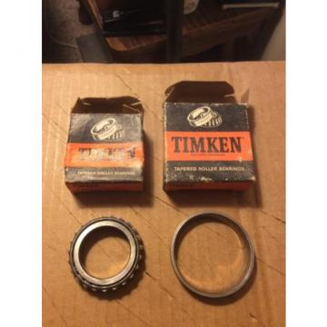 (1SET) Timken 13836 / 13889  Tapered Roller Bearing Cup and Cone