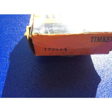 (1) Timken 17244 Tapered Roller Bearing, Single Cup, Standard Tolerance, Straigh