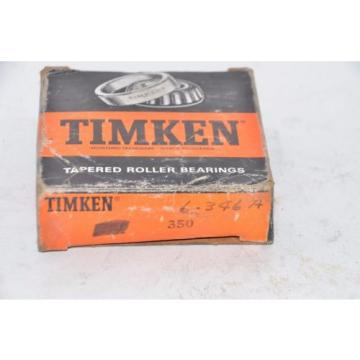 Lot of 2 Timken 350 Tapered Roller Bearing - New