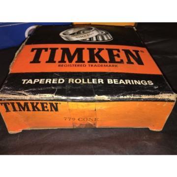 TIMKEN 779 TAPERED ROLLER BEARING, SINGLE CONE, STANDARD TOLERANCE, STRAIGHT ...