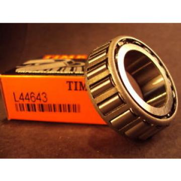 Timken L44643, Tapered Roller Bearing Cone, L 44643