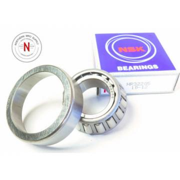 NSK HR32205 TAPERED ROLLER BEARING CUP AND CONE, ID: 25mm