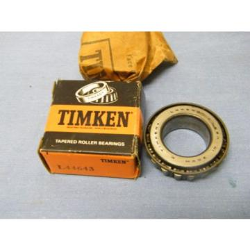 Timken L44643 Tapered Roller Bearing – New Old stock in Box