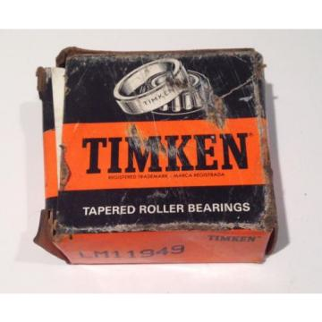Timken Tapered Roller Bearings # LM11949
