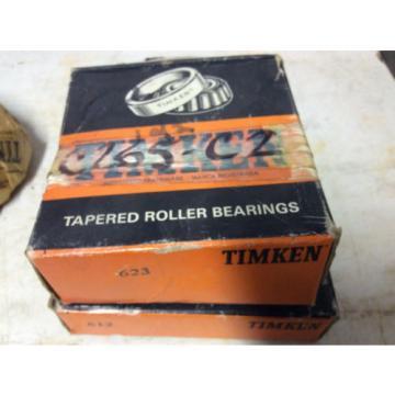 Tapered roller bearing 623-612-TIMKEN