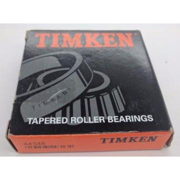 Timken 44348 Tapered Roller Bearing Cone Cup - New! See photos