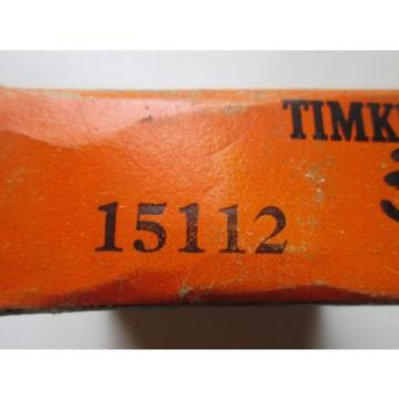 NEW Timken 15112 Tapered Roller Cone Bearing