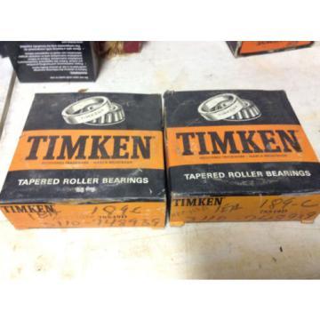(1) Timken 78549D Tapered Roller Bearing,