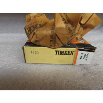 Timken 3420 Tapered Roller Bearing Cup A4