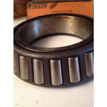 TIMKEN TAPERED ROLLER BEARING 598 A CONE