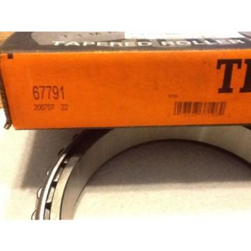 TIMKEN 67791 Tapered Roller Bearing