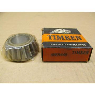 1 NIB TIMKEN HM89449 TAPERED ROLLER BEARING SINGLE CONE