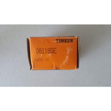 08118DE DOUBLE CONE TIMKEN TAPERED ROLLER BEARING