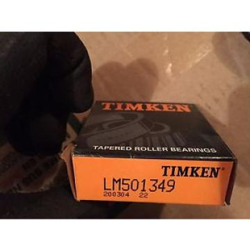 Timken LM501349 Tapered Roller Bearing Inner Race Assembly