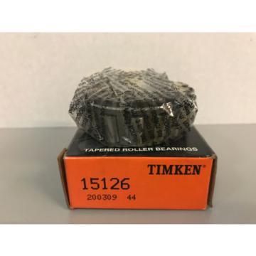 "NIB Timken 15126 Tapered Roller Bearing Cone 1.25"" Bore"