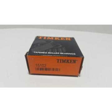 *NEW* TIMKEN 15102,Tapered Roller Bearing, Single Cone