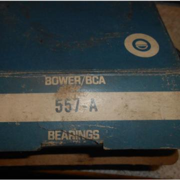 BOWER BCA TYSON TAPERED ROLLER BEARING & CUP 557-A NOS