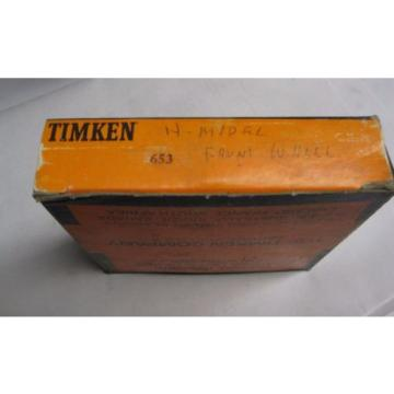 653 Timken tapered roller bearing outer race cup