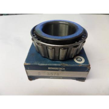 """Bower Tapered Roller Bearing Cone 3578 1 3/4"""" Bore New"""