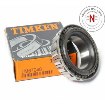 """Timken LM67048 Tapered Roller Bearing Cone  1-1/4IN ID .66"""" WIDTH"""