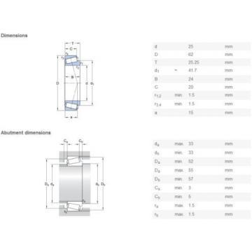 SKF 32305 J2 Tapered roller bearings