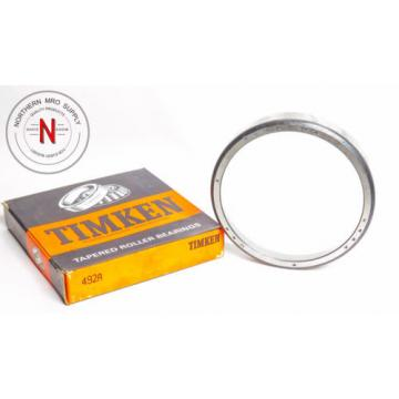 """TIMKEN 492A TAPERED ROLLER BEARING CUP,  OD: 5.250"""", W: .875"""""""