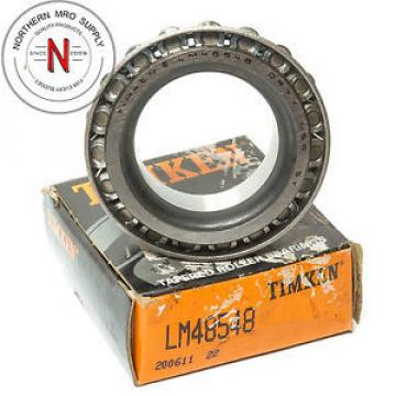 """TIMKEN LM48548 TAPERED ROLLER BEARING 1.375 X .72"""""""