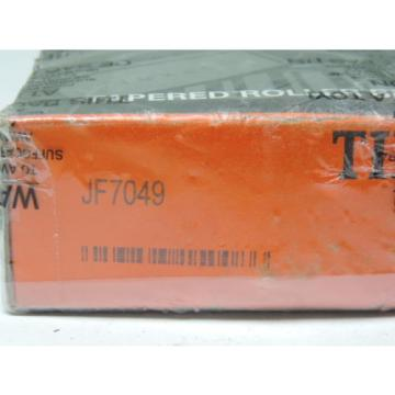 TIMKEN JF7049A Tapered Roller Bearing