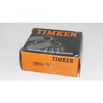 New Timken 369-S Tapered Roller Bearing Made in USA 369S