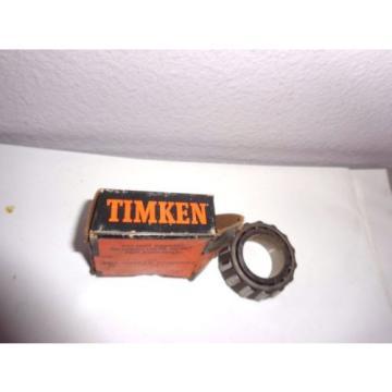 "Timken 1985 Tapered Roller Bearing Single Cup Bore 1 1/8"", Width 0.762"" Surplus"