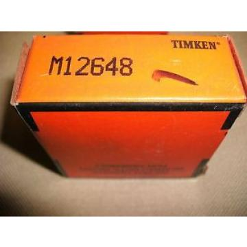 "Timken Brand M12648  Tapered Roller Bearings Cone 7/8"" Bore"