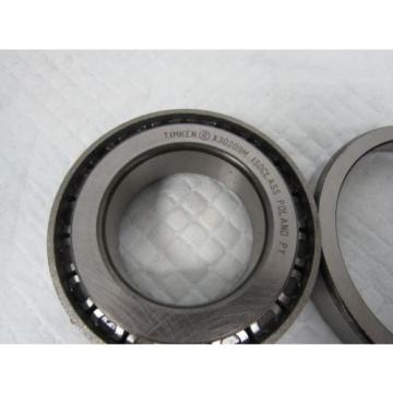 TIMKEN TAPERED ROLLER BEARING 30209M 9/KM1  IsoClass