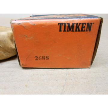 "1 NIB TIMKEN 2688 TAPERED ROLLER BEARING CONE 1-1/16"" ID 1.0013"" WIDTH"