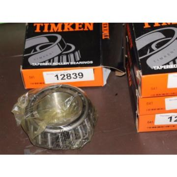 Timken Tapered Roller Bearing # 641 New