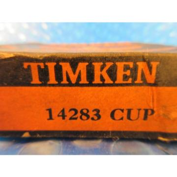 "Timken 14283 Tapered Roller Bearing Single Cup 2.838"" OD x 0.7250"" Wide"