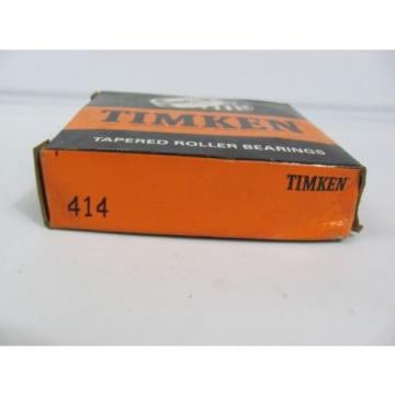1 NEW TIMKEN 414 Cone Tapered Single Cup Roller Bearing Race