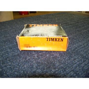 Timken Tapered Roller Bearing # 28990 New