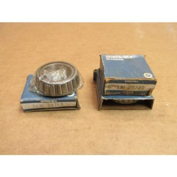 3 NEW BOWER BCA SKF LM29749 TAPERED ROLLER BEARING LM 29749 LOT OF 3