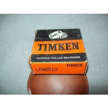 NEW Old Stock Timken Tapered Cup  Roller Bearing, LM48510