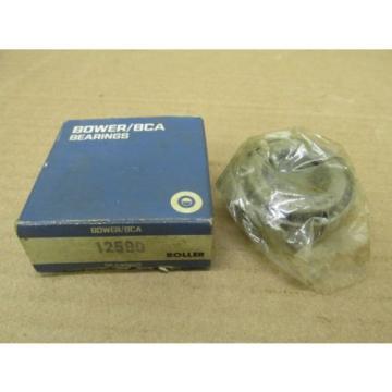 "NIB BOWER BCA 12580 TAPERED ROLLER BEARING 13/16"" ID X 19.845 mm Width NEW"
