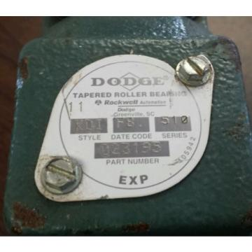 """*NEW*  Dodge  023195   Tapered Roller Pillow Block Bearing Unit   1-11/16"""""""