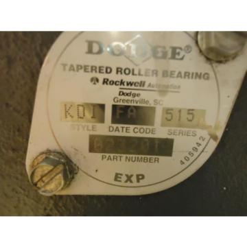 Rockwell/Dodge 023201 Tapered Roller Bearing