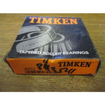 NEW TIMKEN LOT OF 4 TAPERED ROLLER BEARINGS 43312
