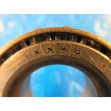 "Timken 15580 Tapered Roller Bearing  1 1/16"" Straight Bore; 11/16"" Wide"