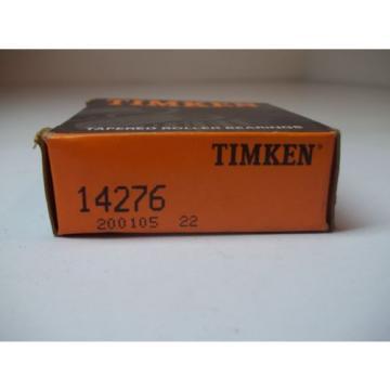 NIB TIMKEN TAPERED ROLLER BEARINGS MODEL # 14276 NEW OLD STOCK 200105 22