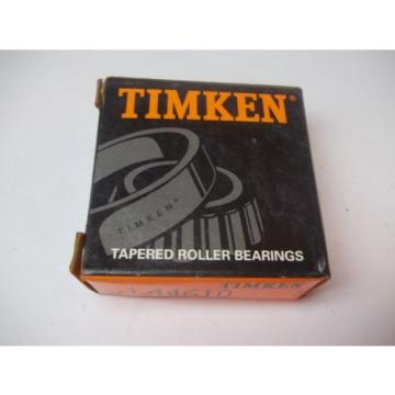 NIB TIMKEN TAPERED ROLLER BEARINGS MODEL # L44610 NEW OLD STOCK 200102 22