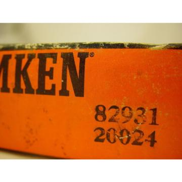 "Timken 82931 Tapered Roller Bearing Single Cup 9.3125"" OD,  1.7500"" Width"