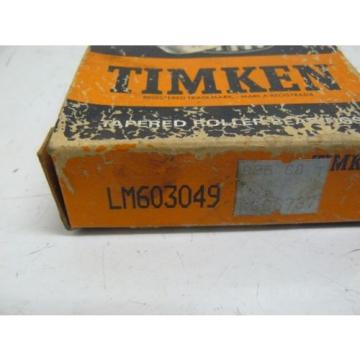 NEW TIMKEN LM603049 BEARING TAPERED ROLLER 1.7812 X .7812 INCH